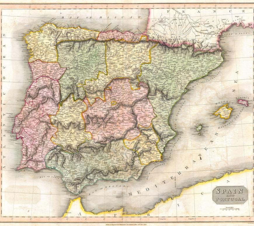 the 17 regions of spain