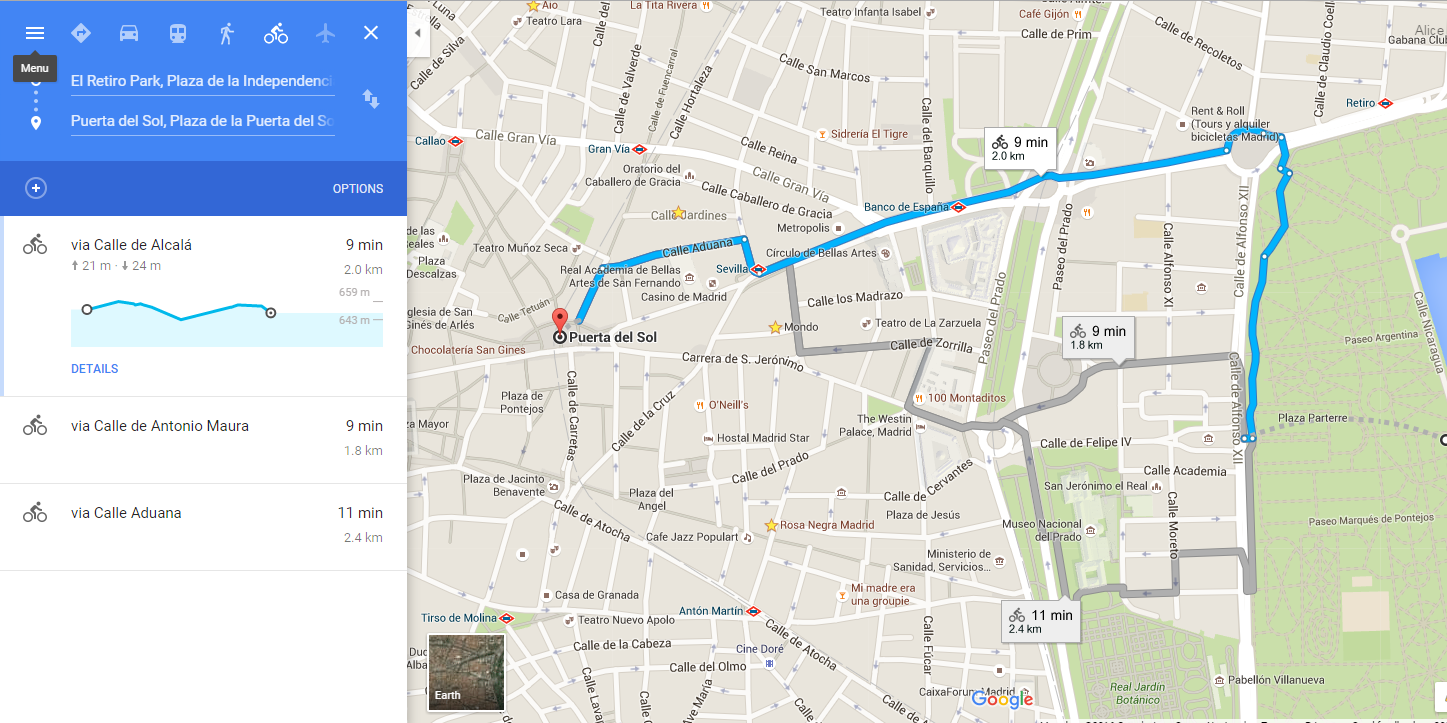 How Google Maps Saves My Life When I Travel Fall for Spain – Google Travel Maps And Directions