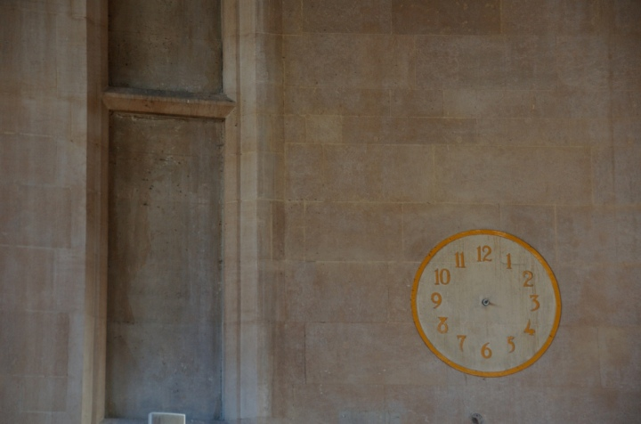 clock face empty, timeless